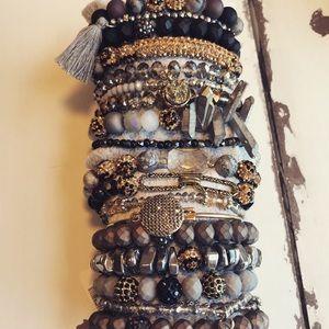 MANDEE Leopard Bracelet Stack❤️